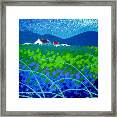 Starry Night In Wicklow Framed Print by John  Nolan