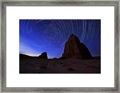 Stars Above The Moon Framed Print by Chad Dutson