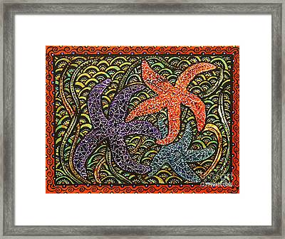 Stars And Stripes Framed Print by Melissa Cole