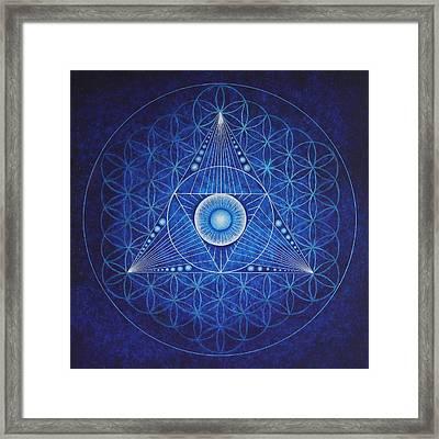 Starseed Transmissions Framed Print by Erik Grind