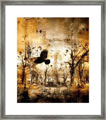 Start Of Chaos  Framed Print by Gothicolors Donna Snyder