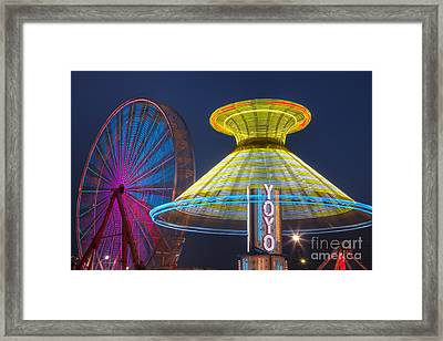 State Fair II Framed Print by Clarence Holmes