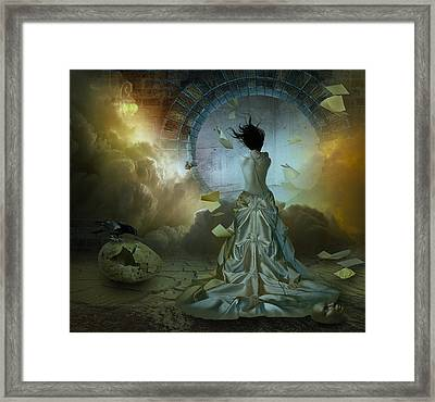 State Of Mind Framed Print by Nataliorion