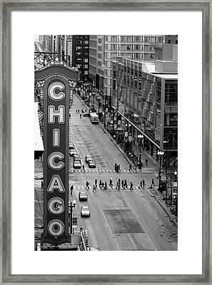 State Street Framed Print by Lauri Novak