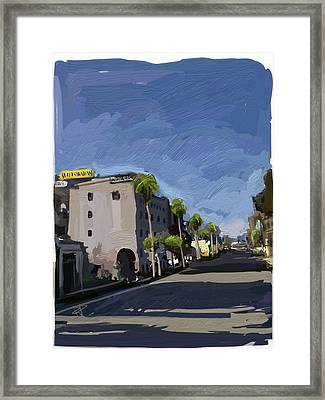 State Street Framed Print by Russell Pierce