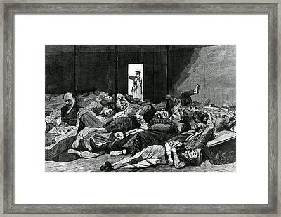 Station House Lodgers Framed Print by Winslow Homer