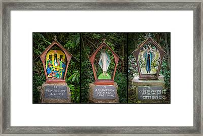 Stations Of The Cross 5 Framed Print by Adrian Evans
