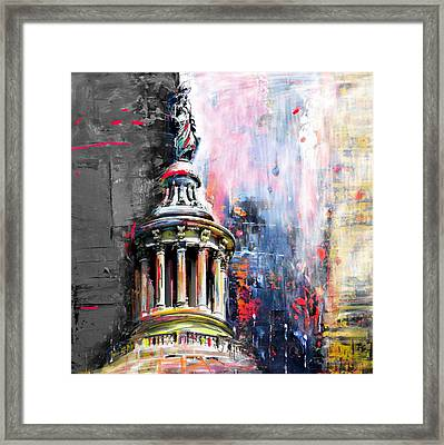 Statue Of Freedom 224 2 Framed Print by Mawra Tahreem