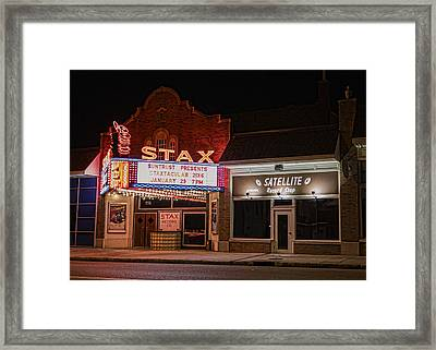 Stax Records - Memphis Framed Print by Stephen Stookey