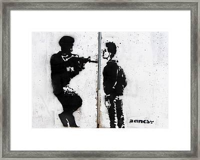Steadfast Framed Print by Munir Alawi