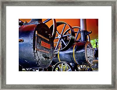 Steam Engines - Locomobiles Framed Print by Carlos Alkmin