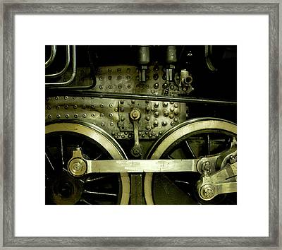 Steam Power I Framed Print by Theresa Tahara