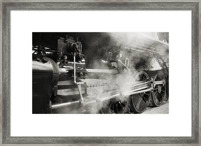 Steam Power Framed Print by Richard Rizzo