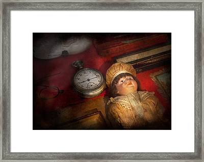 Steampunk - 9-14  Framed Print by Mike Savad