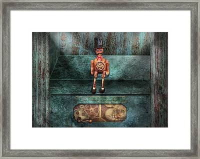 Steampunk - My Favorite Toy Framed Print by Mike Savad