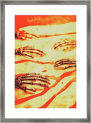 Steampunk Robotic Horror Framed Print by Jorgo Photography - Wall Art Gallery