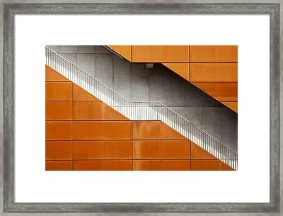 Steel Framed Print by Alida Van Zaane