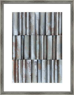Steel Framed Print by Jim Hughes