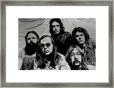 Steely Dan Collection Framed Print by Marvin Blaine