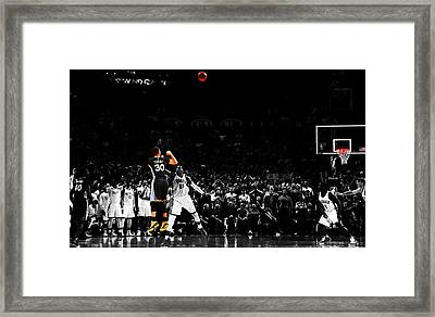 Stephen Curry Its Good Framed Print by Brian Reaves