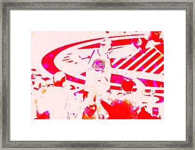 Stephen Curry Unstoppable Framed Print by Brian Reaves