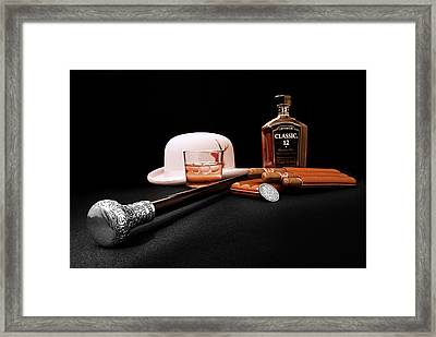 Steppin Out Framed Print by Tom Mc Nemar