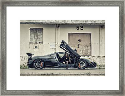 Stepping Out Framed Print by ItzKirb Photography