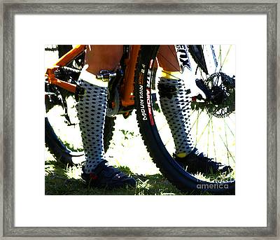 Stepping Out Framed Print by Steven  Digman