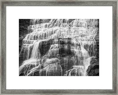 Steps And Flows Framed Print by Kristopher Schoenleber