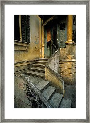 Steps. Framed Print by Tarek Charara