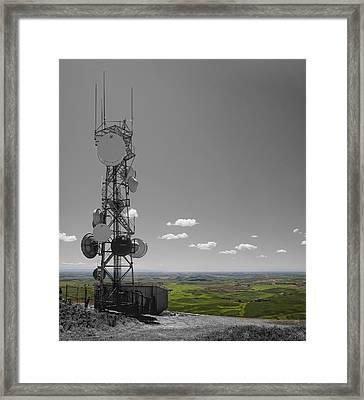 Steptoe Butte Overlooking The Palouse - Eastern Washington State Framed Print by Daniel Hagerman