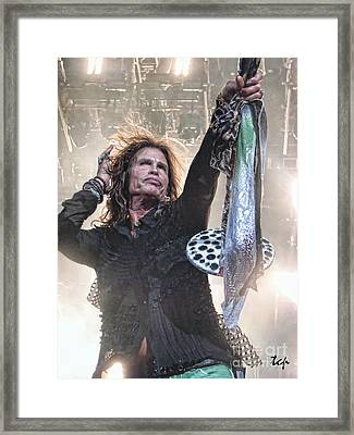 Steven Gives Framed Print by Traci Cottingham