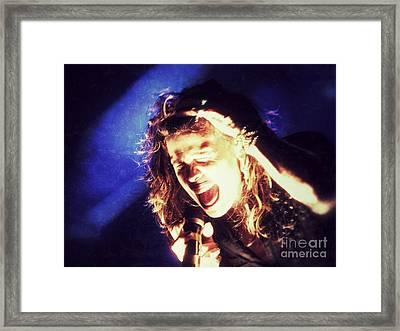 Steven In Color Framed Print by Traci Cottingham