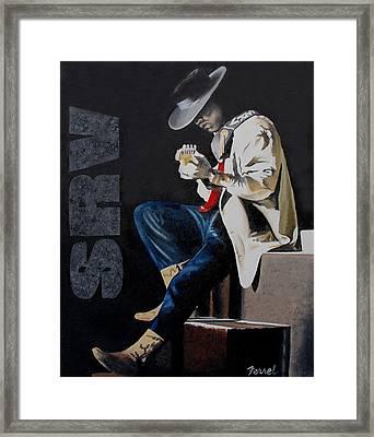 Stevie Framed Print by Ferrel Cordle