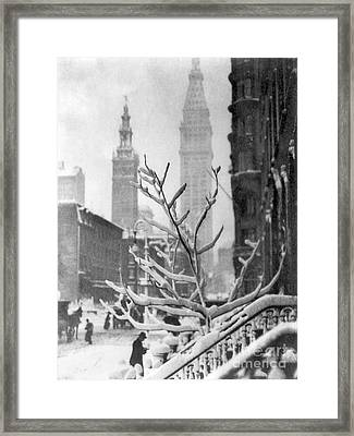Stieglitz: New York, C1914 Framed Print by Granger