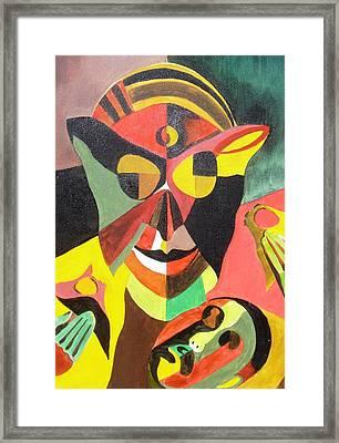 Stigma Framed Print by Surya Prakash Makarla