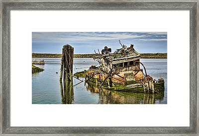 Still Afloat Framed Print by Heather Applegate