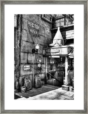 Still At Story Bw  Framed Print by Mel Steinhauer