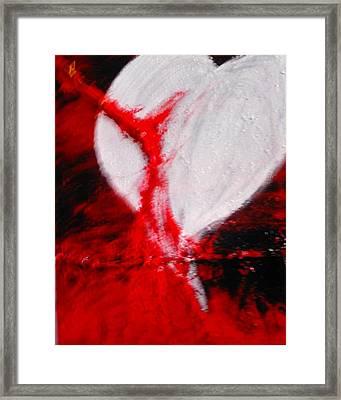 Still I Love Framed Print by Mavis Taylor