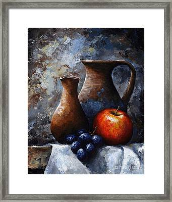 Still Life 11 Framed Print by Emerico Imre Toth