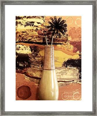 Still Life Abstract Framed Print by Marsha Heiken