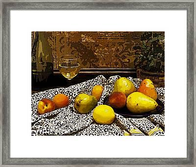 Still Life Framed Print by Marion McCristall