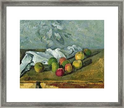 Still Life Framed Print by Paul Cezanne
