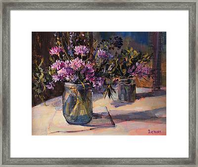 Still Life Framed Print by Sue Wales