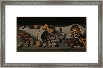 Still Life With Dried Fruit Framed Print by Mountain Dreams