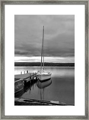 Still Waters Framed Print by Steven Ainsworth