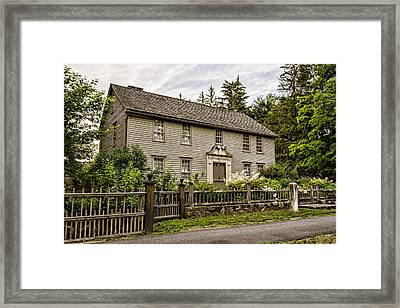 Stockbridge Mission House Framed Print by Stephen Stookey