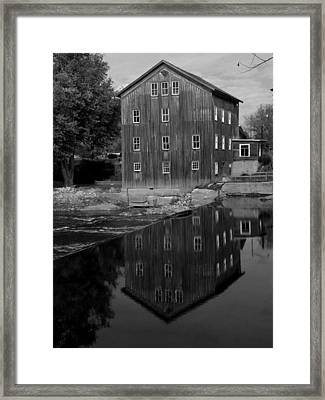Stockdale Mill Framed Print by Michael L Kimble