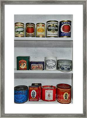 Stocked Shelves Framed Print by Paul Ward