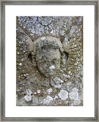 Stone Angel Framed Print by Katrina Perekrestenko